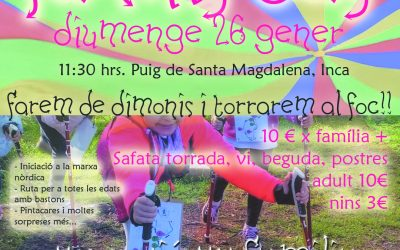 Family Day Puig de Santa Magdalena gener 2020